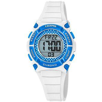 Reloj K5756/1 Blanco Calypso Mujer Digital Crush Calypso