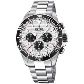 3ea7f8cdbe43 Reloj F20361 1 Plateado Festina Hombre Prestige Festina