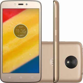Celular Moto C Plus 16GB - Dorado