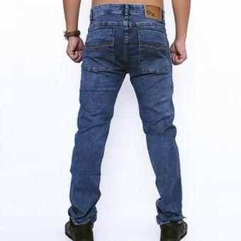 Pantalon Semi Pitillo Denim Para Caballero Hipo Bio Maiz Alan Linio Peru Sn178fa0iswp2lpe