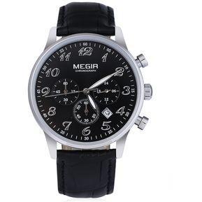 MEGIR M2022 cuarzo de los hombres del reloj del deporte 53d1fc5869a2