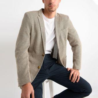 disfruta del precio de descuento comprar baratas moda de lujo Saco Basement de tela para Hombre - Beige