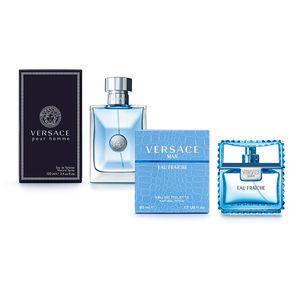 4c26e45f1eb8 Combo Perfume Versace Pour Homme EDT 100ml + Versace Man Eau Fraiche EDT  50ml