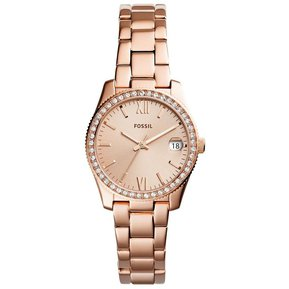 24ef7549d442 Reloj Fossil Scarlette ES4318 Para Dama - Oro Rosa