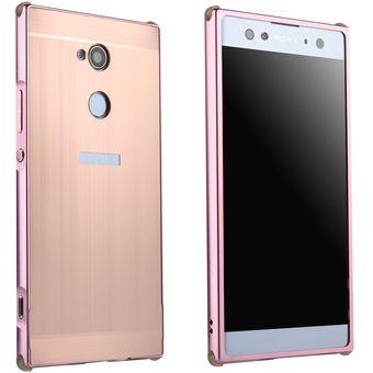 cb0ec933363 Compra Funda De Cepillado Para Sony Xperia XA2 Ultra-Rosa Oro online ...
