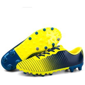 e6d9495a3ea29 Zapatillas hombres para fútbol con clavos pequños antideslizante - Amarillo