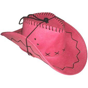 Compra Sombrero Vaquero Disfraz Halloween Ferias Color Fuscia online ... 443b49f5b28