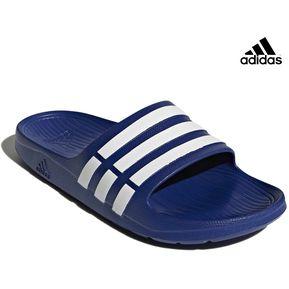 release date 2325e 5ebaf Sandalia Adidas Duramo Slide Para Hombre - Azul