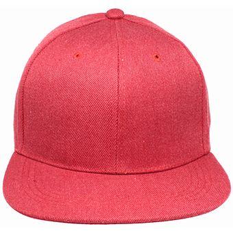 7c908ffb35b1e Compra Gorra SnapBack Lisa De Visera Plana Color Rojo online