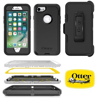 sports shoes f22f1 43148 Apple IPhone 8 Funda Original Otterbox Defender Holster Armor Cover