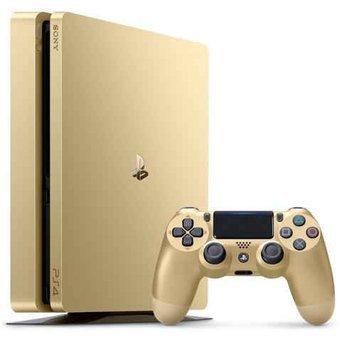 Compra Playstation 4 Slim Gold Edition 1tb Juego Gratis Online