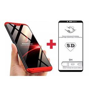 f5bd3b7e5a3 Estuche Protector Xiaomi Mi A2 lite Tipo 360° + Vidrio 9h