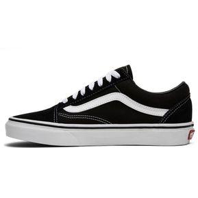 7646635113 Tenis Vans Old Skool Blanco   Negro - Hombre Vn000d3hy28