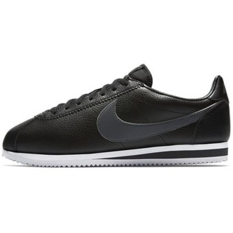 cheap for discount ed5b0 85dec Tenis Running Hombre Nike Classic Cortez Leather-Negro