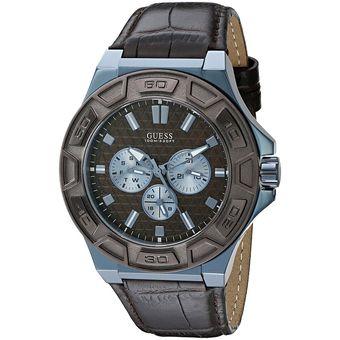 Compra Reloj Guess U0674G5 Análogo En Cuero Para Hombre online ... bddab4322b01