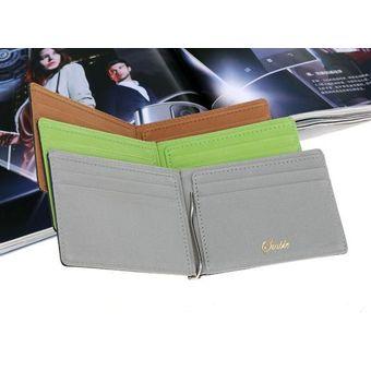 63a078e05 El nuevo dinero clips los bolsos ultrafinos coloridos de múltiples funciones  de los bolsos de la