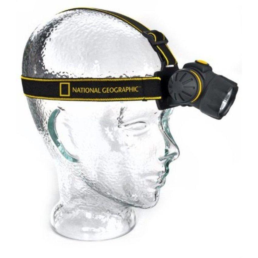 Linterna De Cabeza National Geographic-Negro