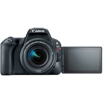 Cámara Canon DSLR Eos Rebel Sl2 Kit 18 55 Gratis Estuche Y Memoria