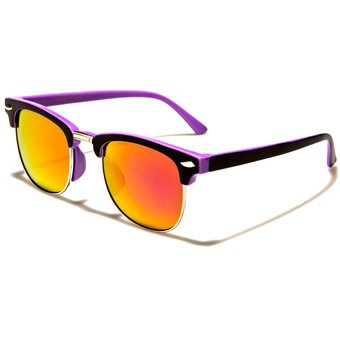 3e0a01d52d Gafas De Sol Filtro Uv 400 Lentes ClubMaster k-1123-cmf Morado para Niños