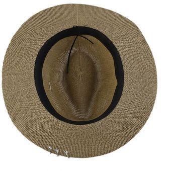 Agotado Carta Anillo Negro decorado Dama Gran Brim Sombrero de Paja  plegable Sunbonnet 9c975cdf91c