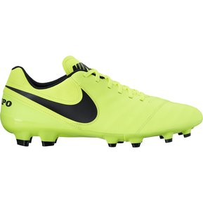 check out 84d60 d63cd Guayos Nike Tiempo Genio II-Amarillo Fosforescente