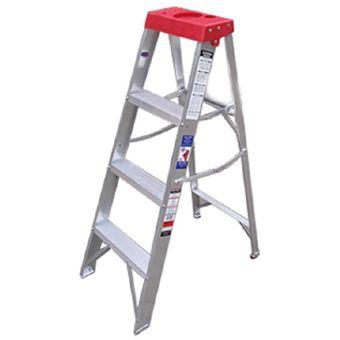 Compra escalera tijera 3 pelda os escalumex stl4 roja for Escalera rolser 3 peldanos