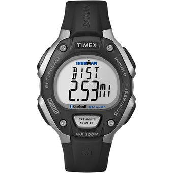 c84e601b33d2 Agotado Reloj Timex Mod. TW5K86300 Iron Man Classic 50 Lap Unisex Move+ Ngro