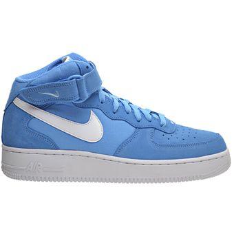 16002dec26e21 Compra Tenis Deportivos Hombre Nike Air Force 1 Mid  07-Azul online ...
