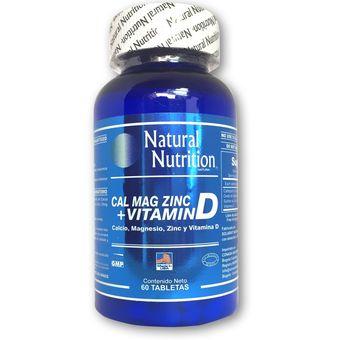vitaminas de calcio magnesio y zinc