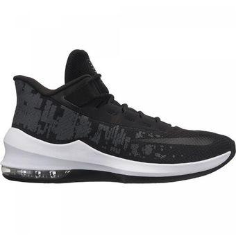 Zapatillas Basketball Hombre Nike Air Max Infuriate 2 Mid Negro con Blanco