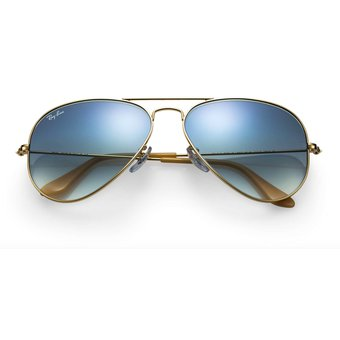 Agotado Gafas de Sol Ray Ban Aviator 3025 001 3F Dorado   Azul Degrade bc4c386b83