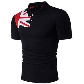 d1e496e00b5 Camisetas Hombre Playeras Manga Corta T-Shirt Caballero-negro