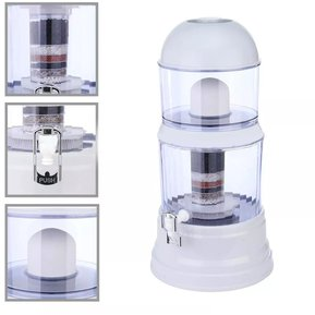 c174bad64 Filtro Dispensador Purificador Agua Piedras Purificadora 14 Litros