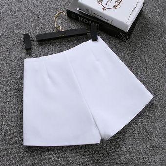 Novedad Moda Popular Nueva Falda Tipo Pantalon Corto Para Mujer Traje Informal De Cintura Alta Pantalones Cortos En Blanco Y Negro Pantalones Cortos Para Mujer Gray Linio Mexico Ge598fa0rw0vllmx