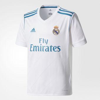 Compra Jersey Adidas Real Madrid Para Niños Temporada Actual 2018 ... 8fb7f8bf98fbe