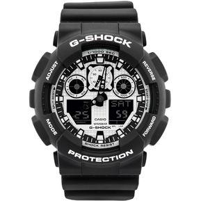 35c1e508925 Reloj Casio G-Shock GA-100BW-1A Analógico Y Digital Hombre - Negro