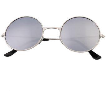 1fd3a19531 ER Mujeres Hombres Antideslumbrante Lente Espejo Colorido Gafas Redondas  Gafas De Sol De La Vendimia Color