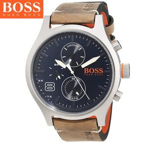 f4711d0ac54b Reloj Hugo Boss Amsterdan 1550021 Acero Inoxidable Correa De Cuero - Beige  Azul