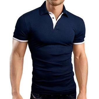 Polo De Verano Para Hombre Pantalones Cortos De Hombre Polo De Manga Ropa De Negocios Camiseta De Lujo Para Hombre Marca Polo Mtp129 Black Blue Linio Peru Ge582fa030kiflpe