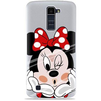 80a16bdca76 Agotado Funda de TPU Silicona la Disney Minnie Mouse para LG K10 (5,3  Pulgadas