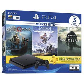 eb34ad2ed917 Consola Playstation 4 Silm 1TB 3 Juegos Físicos
