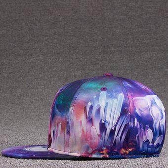 EY Gorra De Béisbol De La Impresión En 3D Langtou 15036-multicolor d190d285e92