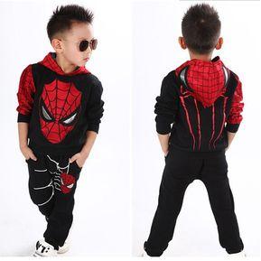 10068c174 Spiderman Se Divierte Los Tracksuits Encapuchados