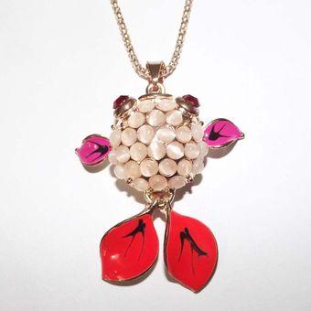 4b5cbfff93c9 Compra Collar By Divalu accesorios Pez Perlado-Blanco online