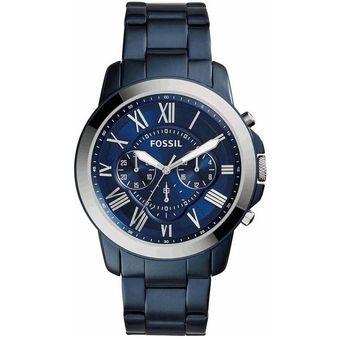01af0d5522db Compra Reloj Fossil Grant FS5230 Para Caballero-Azul online