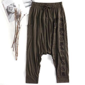 Flojo Holgado Pantalones Harem Hippie Pantalonescinta Impresa Linio Colombia Ge063fa06f0c2lco