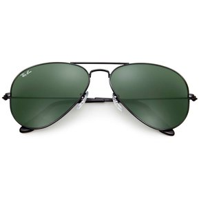 08318f50f9 Anteojos Ray Ban Mujer Aviator Negro/Verde
