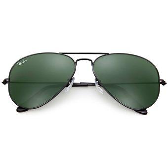 Compra Anteojos Ray Ban Aviator Negro Verde online  cb8e4f20ce39e