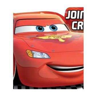 Tarjetas De Invitación Cars Disney Rojo Paque 1 Paquete Y Lleve El Segundo Paquete Gratis