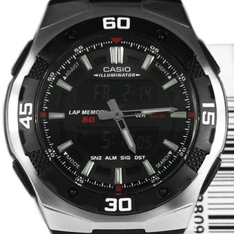 ceb3f06f957b Compra Reloj Casio AQ-164W-1A Para Caballero-Negro online